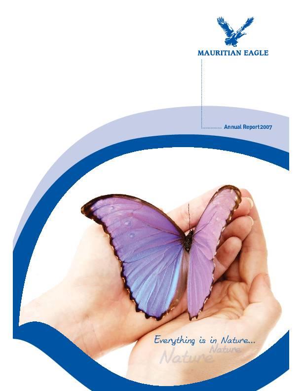 Mauritian Eagle Insurance Co Limited Mei Mu 2007 Annual Report Africanfinancials