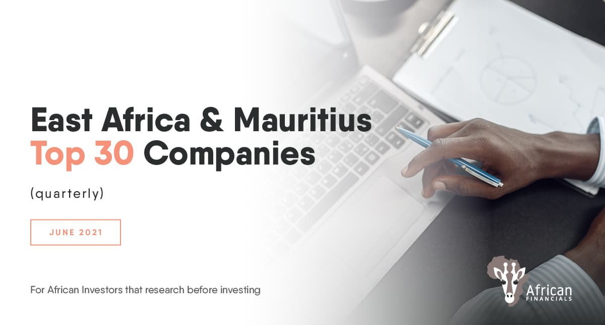 Safaricom holds 49% of East Africa Top 30's market capitalisation