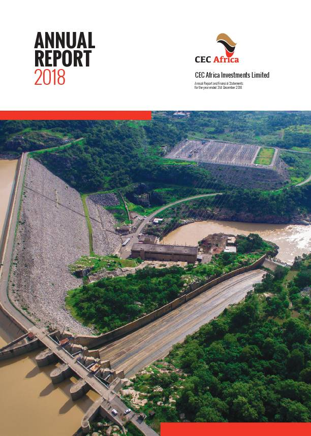 CEC Africa Investments Limited (CECA zm) 2018 Annual Report