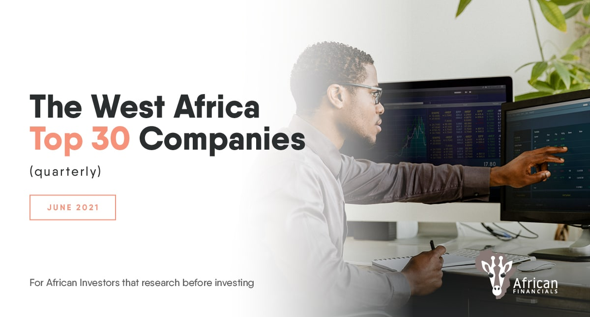 3 companies account for 49% by value of W. Africa's Top 30