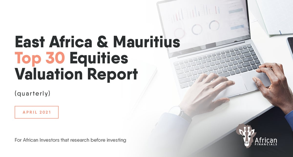 KenGen trading at Price to Book Value Ratio of 0.14 times @ 31 March 2021 @ KES4.55: The East Africa & Mauritius Top 30 Equities Valuation Report
