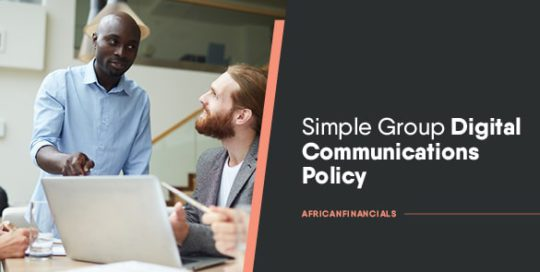 Simple Group Digital Communications Policy