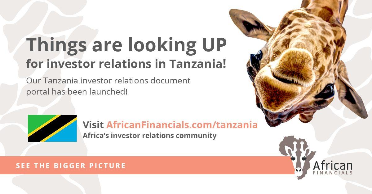 Tanzania Financials, Annual Reports, Results, Circulars and