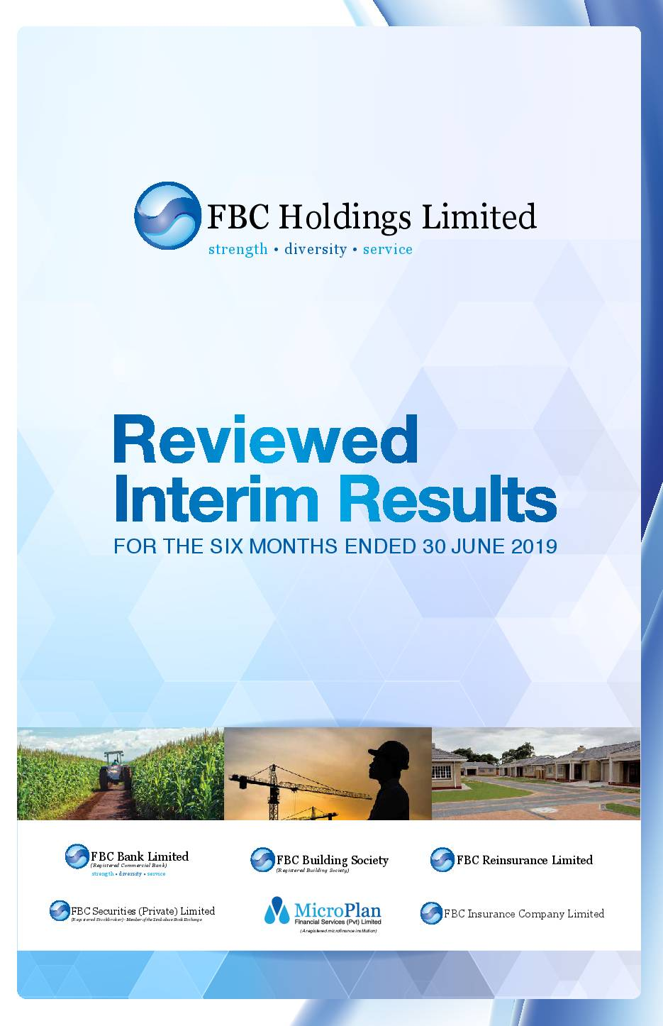 FBC Holdings Limited (FBC.zw) HY2019 Interim Report