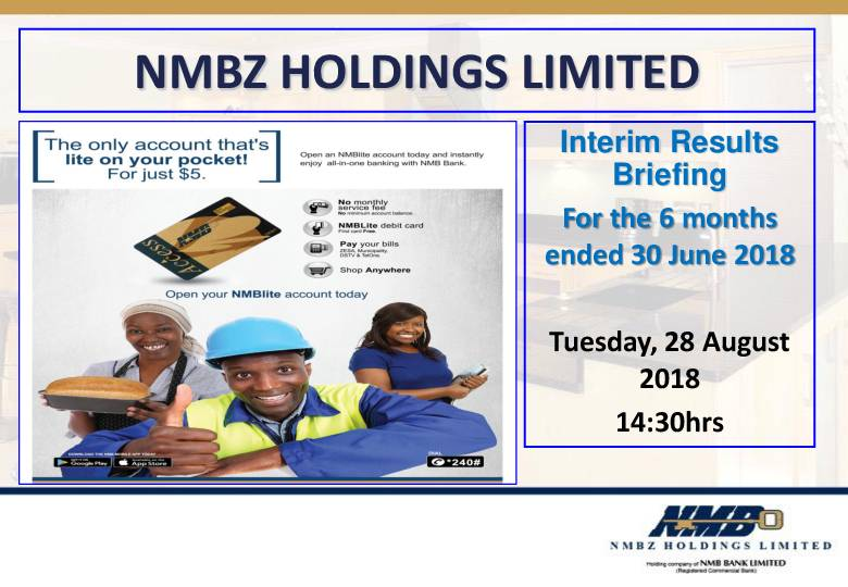 NMBZ Holdings Limited (NMB.zw) HY2018 Presentation