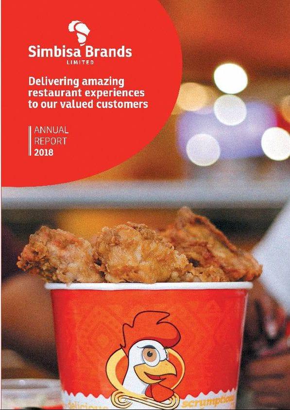 Simbisa Brands Limited Sim Zw 2018 Annual Report